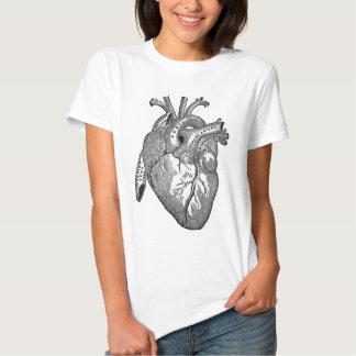 vintage heart anatomy shirts
