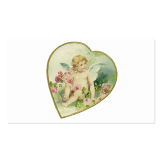 Vintage Heart and Cherub - Mother's Day/Valentine Pack Of Standard Business Cards