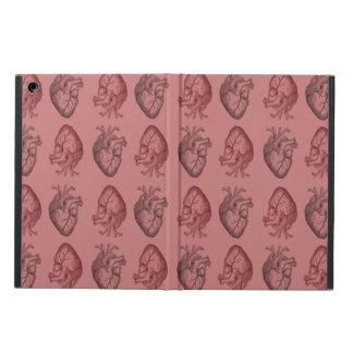 Vintage Heart Illustration iPad Air Cases