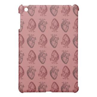 Vintage Heart Illustration iPad Mini Cover