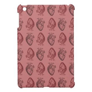 Vintage Heart Illustration iPad Mini Cases