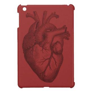 Vintage Heart Illustration Case For The iPad Mini