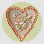 Vintage Heart Stickers