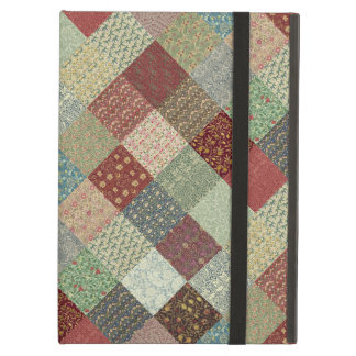Vintage Heritage Patchwork Cover For iPad Air