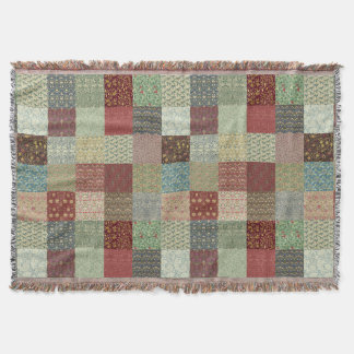 Vintage Heritage Patchwork Rugs Throw Blanket