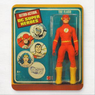 Vintage_Heros_01 Mouse Pad