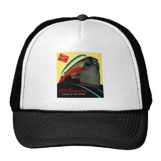 Vintage Hiawatha Streamlined Train Hats