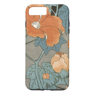 Vintage Hibiscus Flower iPhone 7 Plus Case