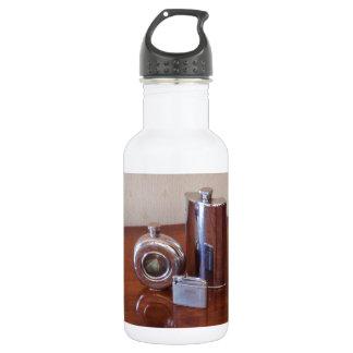 Vintage Hip Flasks And Lighter 532 Ml Water Bottle