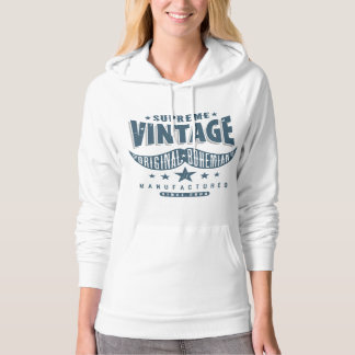 Vintage Hipster Mustache Hoodie