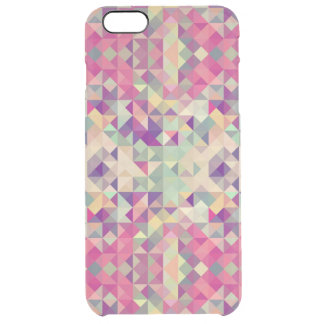 Vintage Hipsters Geometric Pattern. Clear iPhone 6 Plus Case