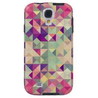 Vintage Hipsters Geometric Pattern. Galaxy S4 Case