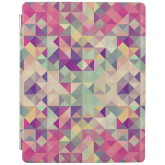 Vintage Hipsters Geometric Pattern. iPad Cover