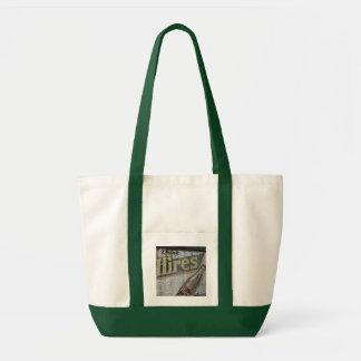Vintage Hires Building Ad Bag