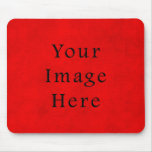 Vintage Holiday Christmas Red Parchment Paper Mouse Pad