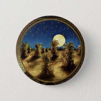 Vintage Holidays, A Glad Thanksgiving Day 6 Cm Round Badge