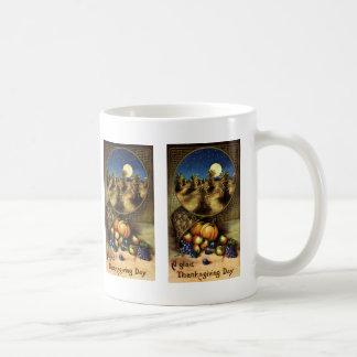 Vintage Holidays, A Glad Thanksgiving Day Coffee Mug