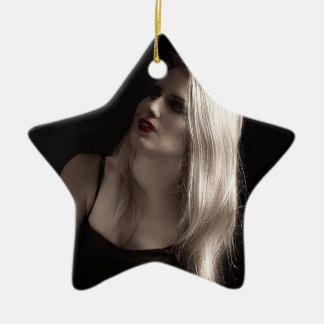 Vintage Hollywood Glamour Christmas Ornament