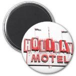 Vintage Hollywood Motel Sign Fridge Magnets