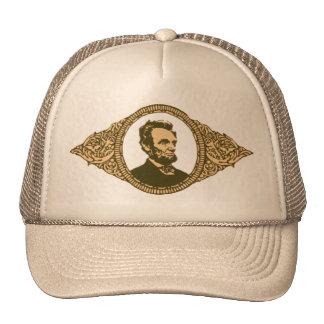 Vintage Honest Abe Lincoln President Portrait Cap