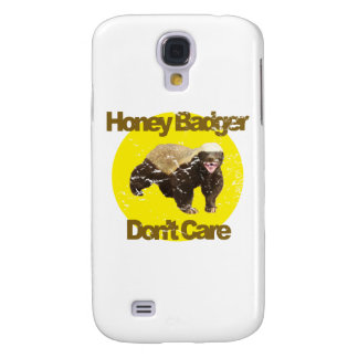 VINTAGE Honey Badger Don't Care Galaxy S4 Case