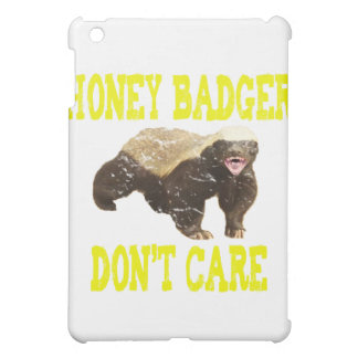 VINTAGE Honey Badger Don't Care Cover For The iPad Mini