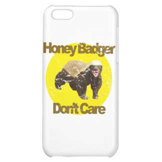 VINTAGE Honey Badger Don't Care Cover For iPhone 5C