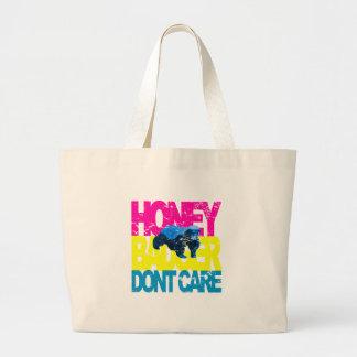 VINTAGE Honey Badger Don't Care SB Jumbo Tote Bag