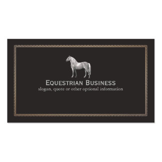 800 equestrian business cards and equestrian business for Horse business cards