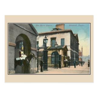Vintage Horse Guards, Whitehall, London Postcard
