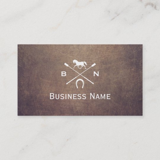 Vintage horse monogram professional equestrian business card vintage horse monogram professional equestrian business card reheart Gallery