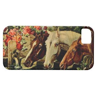 Vintage Horses iPhone 5 Case