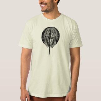 Vintage Horseshoe Crab King Crabs Template T-Shirt