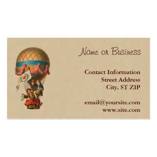 Vintage Hot Air Balloon Double-Sided Standard Business Cards (Pack Of 100)