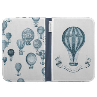 Vintage Hot Air Balloon Case For Kindle
