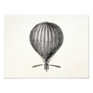 Vintage Hot Air Balloon Retro Airship Balloons Photo