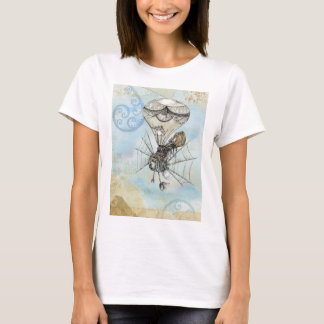 Vintage Hot Air Balloon Woman's Tee Shirt