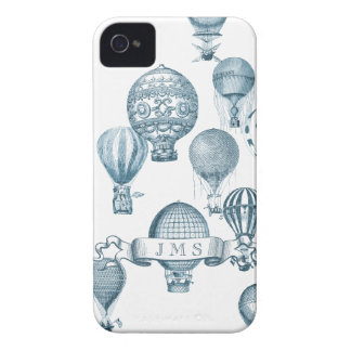 Vintage Hot Air Balloons in Flight iPhone 4 Case