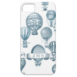 Vintage Hot Air Balloons in Flight iPhone Case iPhone 5 Case