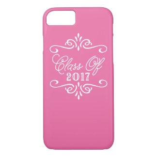 Vintage Hot Pink | Graduation iPhone 8/7 Case