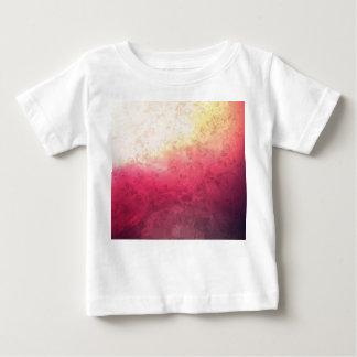 Vintage Hot Pink Grunge Floral Multicolor Pattern Tee Shirt