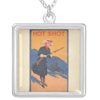 Vintage Hot Shot Womans Tee Necklace