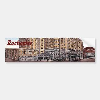 Vintage Hotel Seneca Rochester NY Bumper Sticker