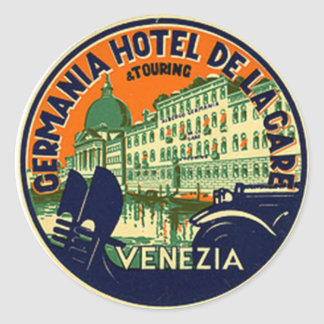Vintage Hotel & Travel Sticker