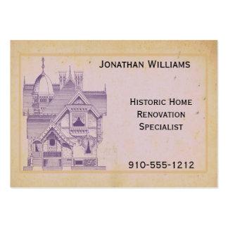 Vintage House Real Estate Renovation Business Card