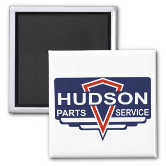 Vintage Hudson parts sign Refrigerator Magnets