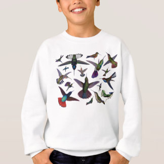 Vintage Hummingbirds Sweatshirt