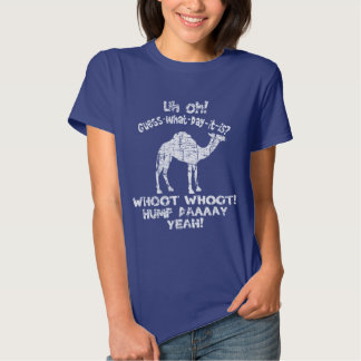 Vintage Hump Day Camel Guess What Day It Is T-shirt