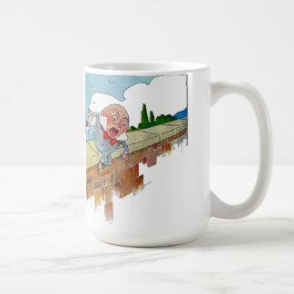 Vintage Humpty Dumpty Nursery Rhyme Illustration Coffee Mug