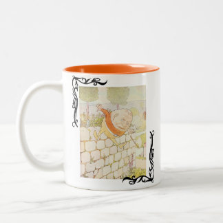 Vintage Humpty Dumpty Two-Tone Coffee Mug